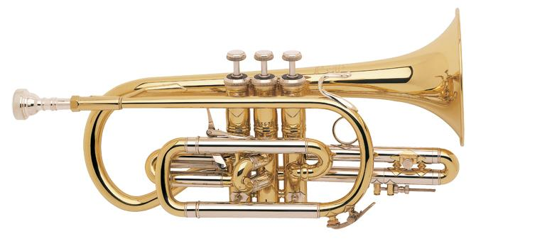 Cornet Sib Stradivarius perce large