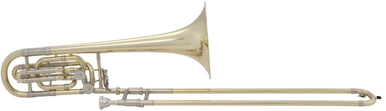 Stradivarius Bass Trombone w/ Double Rotor System, bell 265mm