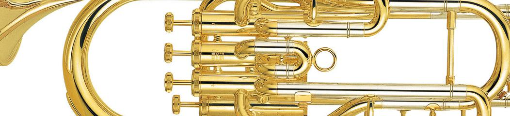 Euphonium 4 valves top action