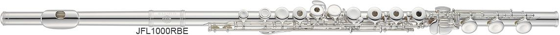 C flute sterling silver headjoint 1000 series