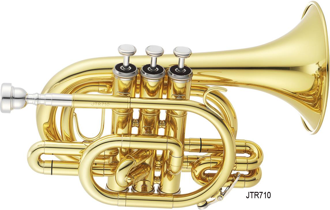 Bb pocket trumpet