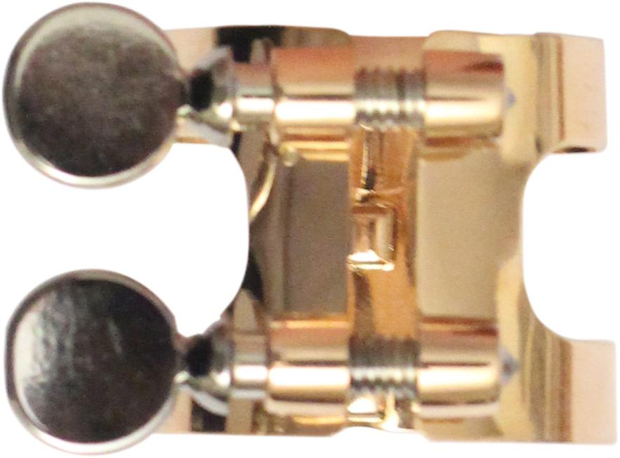 Gold plated Bb clarinet ligature