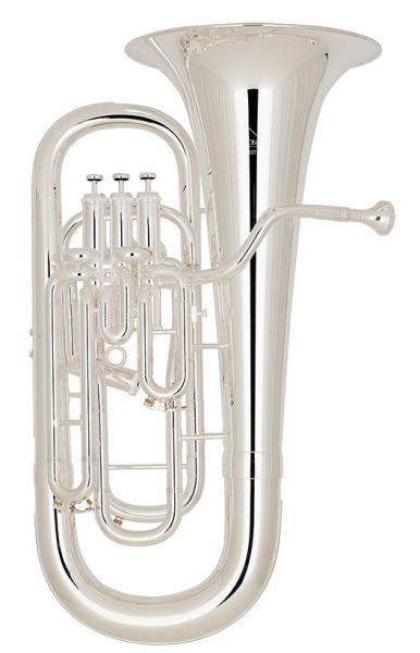 Bb compensated ergonomic euphonium