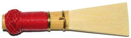 Finished bassoon reed