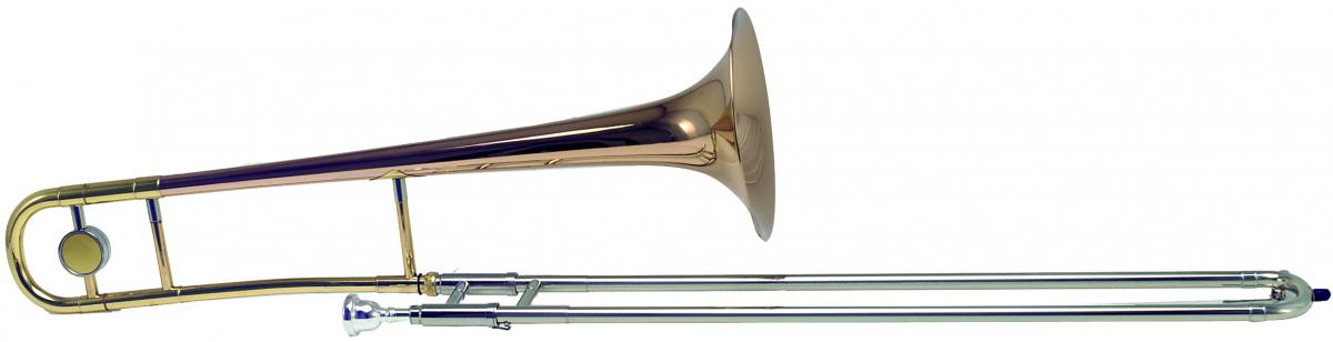 Bb trombone, small bore