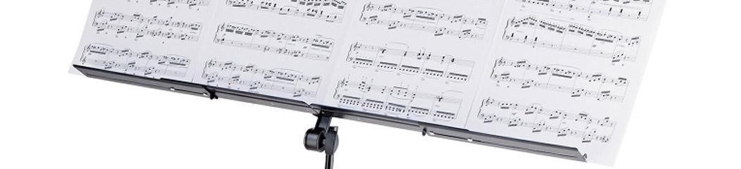 Expandable music stand