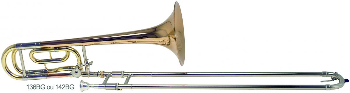 Bb/F trombone F-attachment