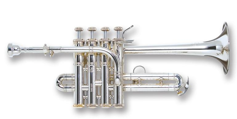 Stradivarius Bb/A trumpet long bell