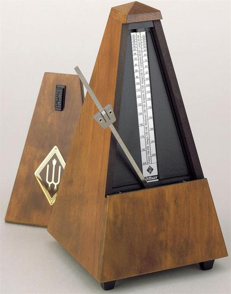 Metronome wooden casing