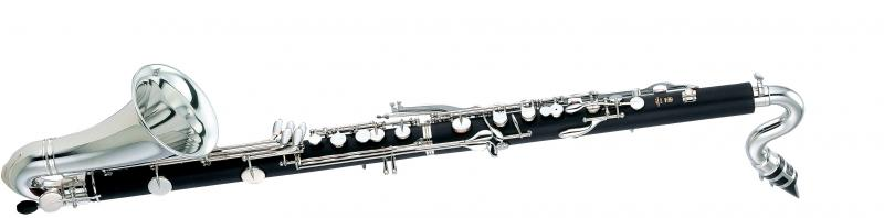 Bass clarinet Standard serie, nickel finished